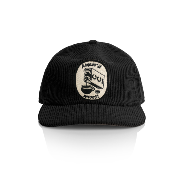 Black Cord Cap